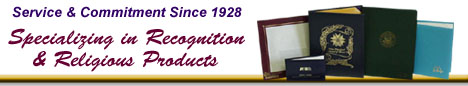 Specializing in Recognition & Religious Products